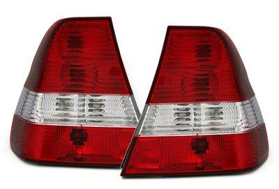 Achterlichten red/white E46 Compact