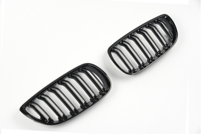 Dubbelspaak grille hoogglans zwart E92/E93