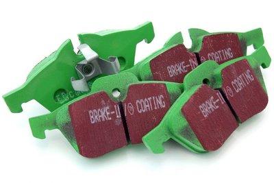 EBC Green Stuff remblokken voor - E81 E87 E88 E82 (123d, 130i)