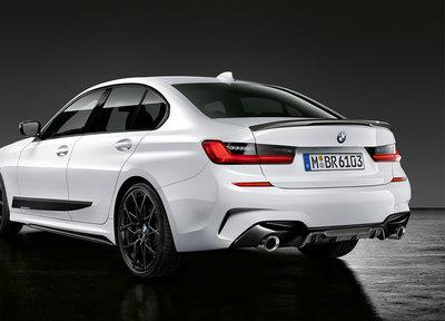 M Performance diffuser zwart - BMW G20