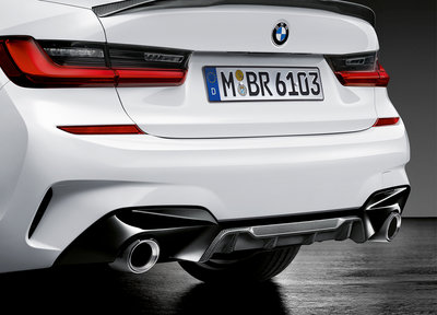 M Performance diffuser inzet Carbon - BMW G20