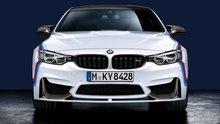 BMW M Performance mat zwart opzetstuk F82/F83 M4